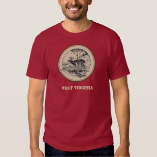 Carr China: WV State parks: deer T-shirt