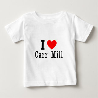 Carr Mill, Alabama City Design Baby T-Shirt