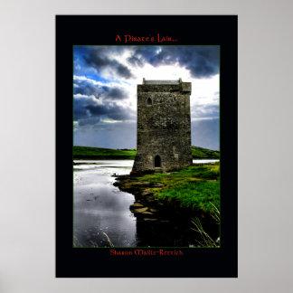 Carraigahowley Castle Poster Print