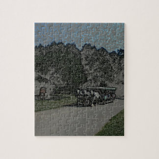 Carraige-Colored Pencil Jigsaw Puzzle