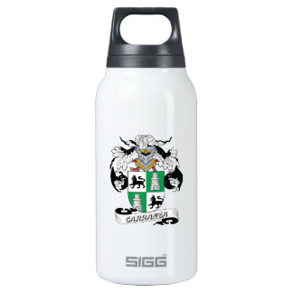 Carranza Family Crest Insulated Water Bottle