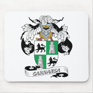 Carranza Family Crest Mouse Pad