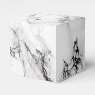 Carrara Marble Favor Box