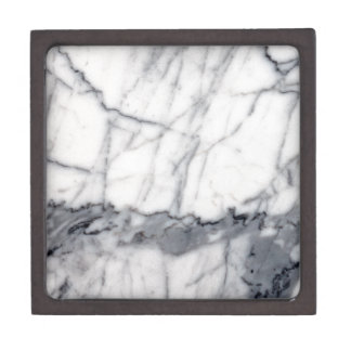 Carrara marble jewelry box