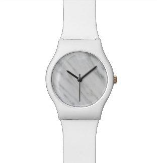 Carrara Marble Wrist Watch