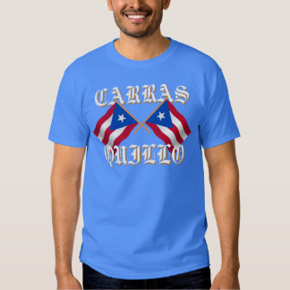 Carrasquillo, Puerto Rican Flag T-shirt