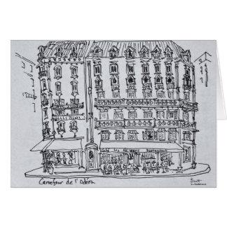 Carrefour de l'Odeon, Saint-Germain-des-Pres Card