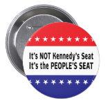 Carrera al Senado de Massachusetts Pin