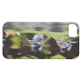 carrera de caballos 2 funda para iPhone SE/5/5s