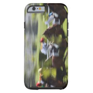 carrera de caballos 2 funda resistente iPhone 6