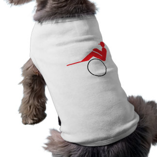 Carrera de caballos 2 camiseta de perrito