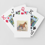 Carrera de caballos 3 barajas de cartas