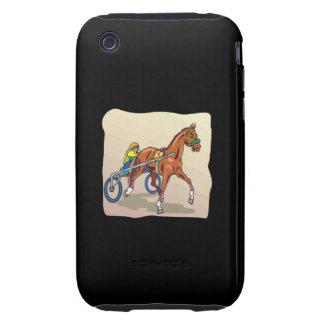 Carrera de caballos 3 iPhone 3 tough carcasa