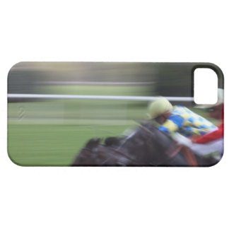carrera de caballos 3 funda para iPhone SE/5/5s