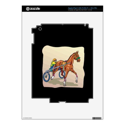 Carrera de caballos 3 iPad 3 skins
