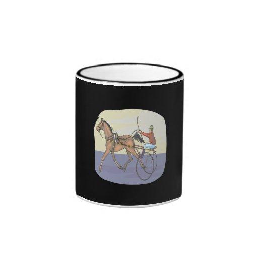 Carrera de caballos 4 taza
