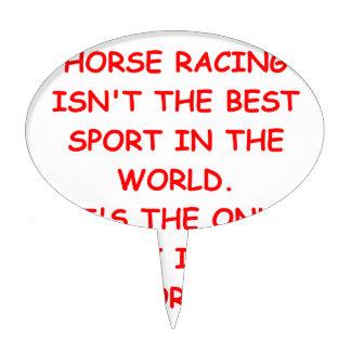carrera de caballos figuras para tartas