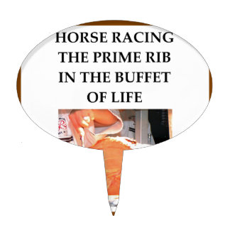 carrera de caballos palillos de tarta