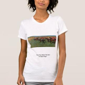 Carrera de caballos antes del comienzo de Edgar Camisetas