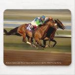 Carrera de caballos - Barra-barra-o Mouse Pad