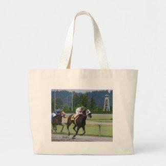 Carrera de caballos bolsas