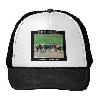 Carrera de caballos de Kentucky Gorras De Camionero