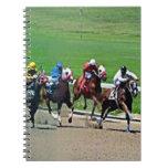 Carrera de caballos de Kentucky Libro De Apuntes Con Espiral