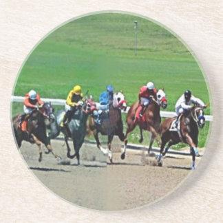 Carrera de caballos de Kentucky Posavasos Para Bebidas