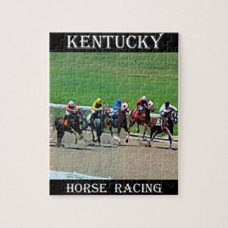 Carrera de caballos de Kentucky Puzzles Con Fotos