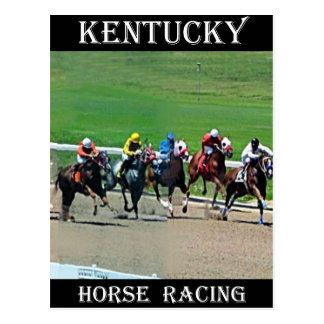 Carrera de caballos de Kentucky Tarjetas Postales