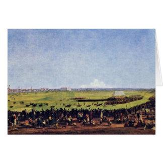 Carrera de caballos de Kobell Wilhelm Von (la mejo Tarjeta