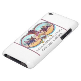 Carrera de caballos divertida - trabaje para la ge iPod touch protector