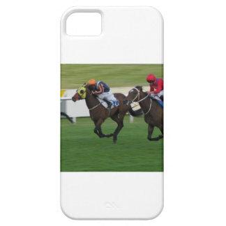 Carrera de caballos en imágenes del césped, del iPhone 5 carcasas