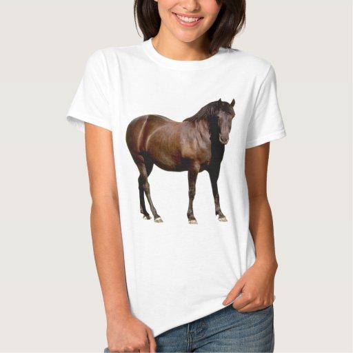 carrera de caballos equistrian del montar a tshirt