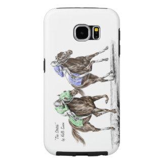 Carrera de caballos excelente fundas samsung galaxy s6