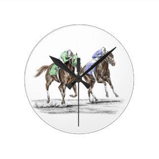 Carrera de caballos excelente relojes