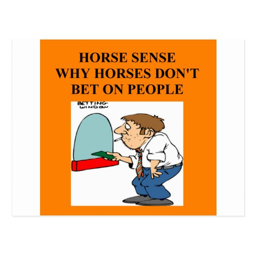 carrera de caballos excelente tarjeta postal
