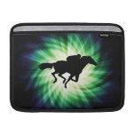 Carrera de caballos; Fresco Funda MacBook