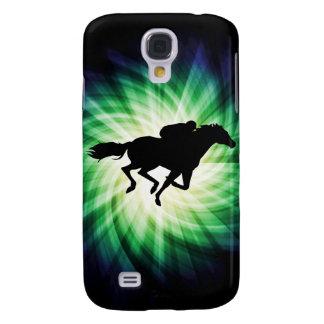 Carrera de caballos; Fresco Funda Para Galaxy S4