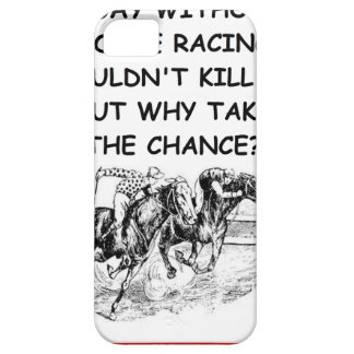 carrera de caballos iPhone 5 Case-Mate protector