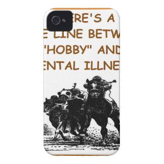 carrera de caballos iPhone 4 Case-Mate cárcasas