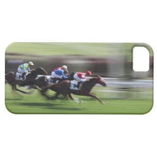 carrera de caballos funda para iPhone SE/5/5s