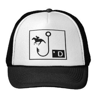 Carrera de caballos gorras de camionero