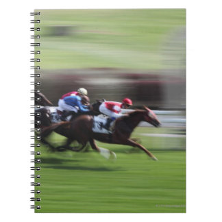 carrera de caballos libreta