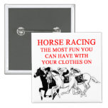 Carrera de caballos pins