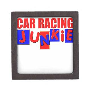 Carreras de coches cajas de joyas de calidad