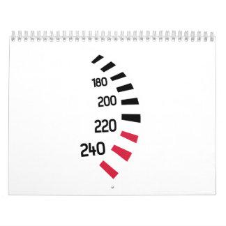 Carreras de coches de Speedo Calendarios
