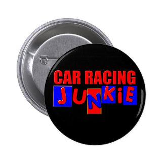 Carreras de coches pin redondo de 2 pulgadas