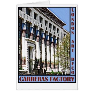 Carreras Factory, London Card