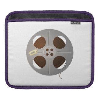 Carrete de la película de cine fundas para iPads